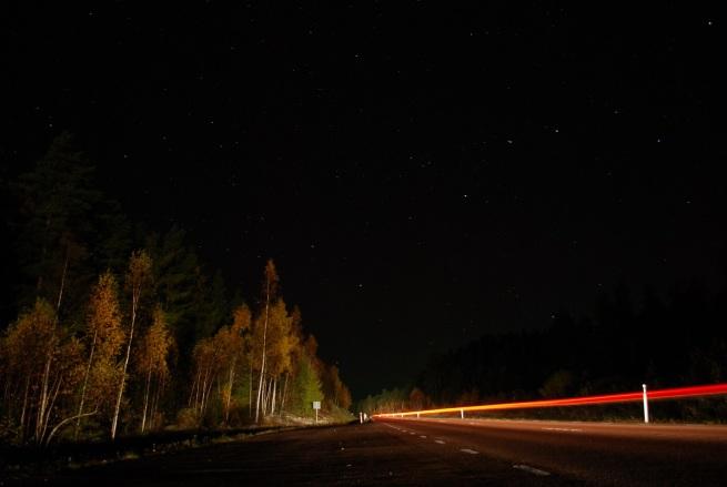 Sternenklare Nächte Falun Schweden 18.10.2015