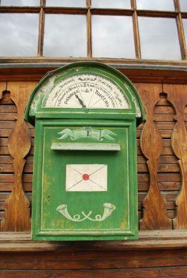 Historischer Postkasten