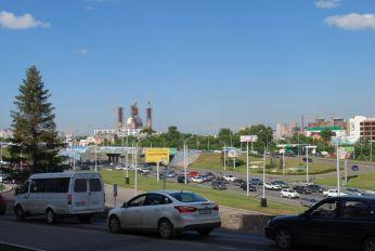 Ufa - auch hier werden neue Moscheen gebaut