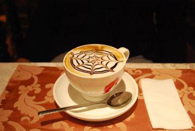 Ein Kaffee läßt sich herrlich geniessen in den Kaffeehäuswern von Jekaterinenburg