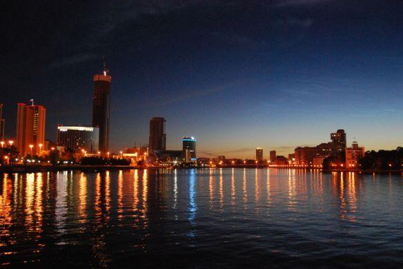 Jekaterinenburg bei Nacht