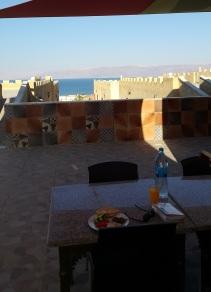 Frühstück am Toten Meer