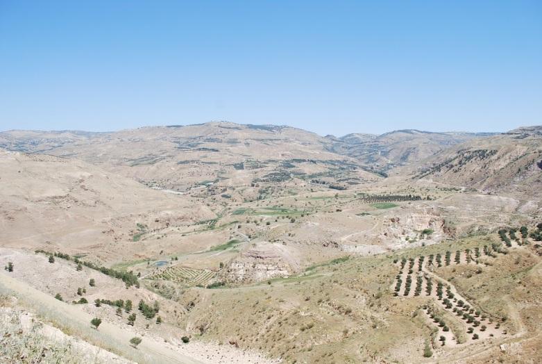 Vom Hochland Ammans zum Toten Meer