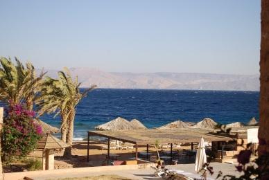 Resort am nächsten Morgen