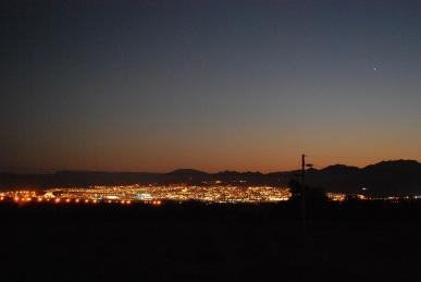 Sonnenuntergang Aqaba und Eilat