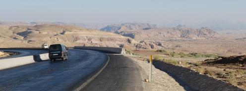 Desert Highway bei Ras An-Naqb