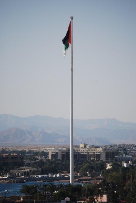 Eine der höchsten Flaggen der Welt