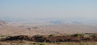 Blick nach Süden von Ras An-Naqb