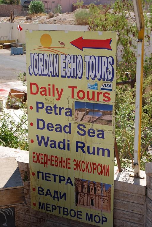 Auf Touristen aus allen Ländern ausgerichtet