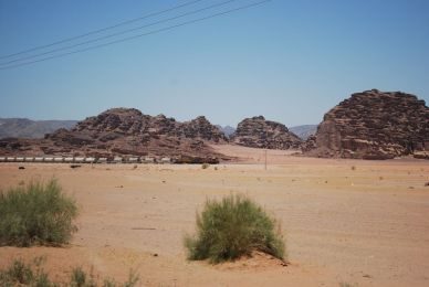 Teile der alten Hedschas-Bahn werden immer noch genutzt