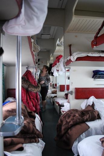 Zugfahrt nach Kirov