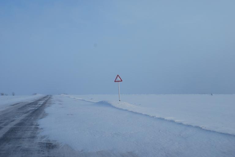 Dieses Mal Schnee- und keine Sandwüste