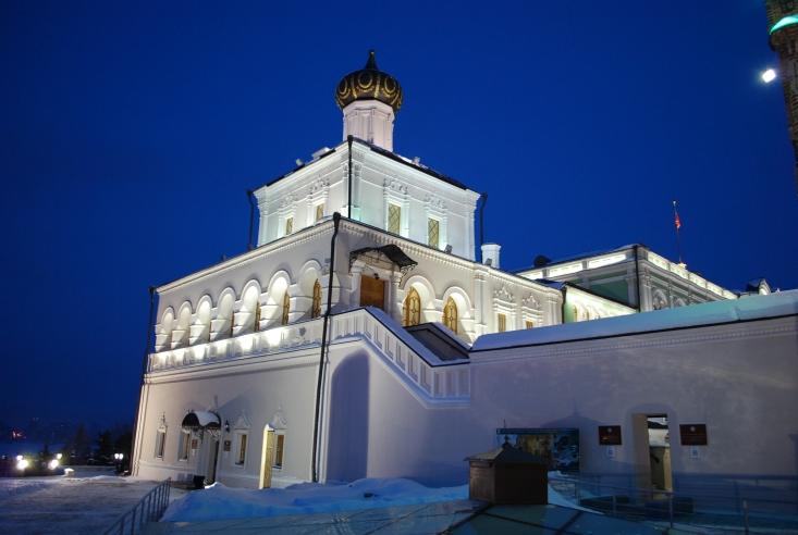 Wie im Märchen: der Palast des Präsidenten von Tartastan