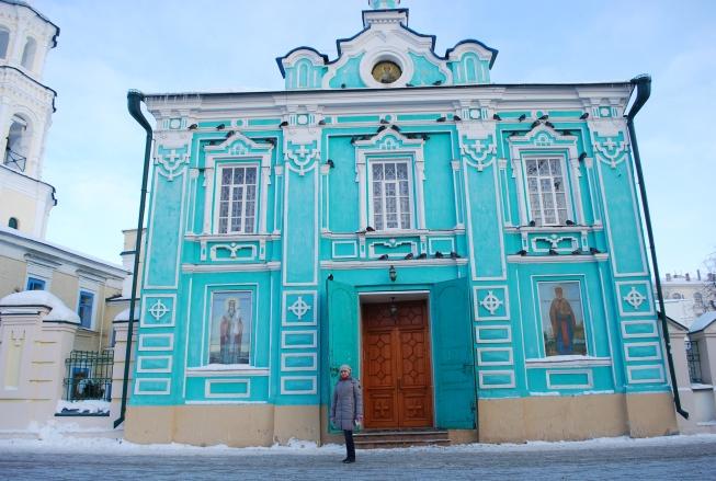 Eine von unzähligen Kirchen in Kazan