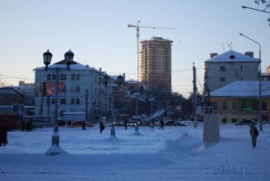 Kirov Stadtzentrum