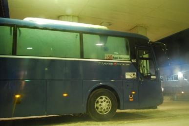 Bus von Kirov nach Syktyvkar (Republik Komi)