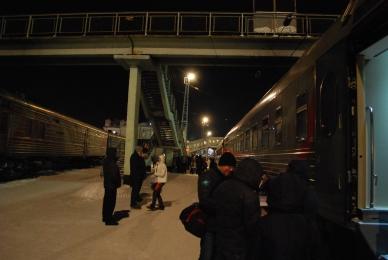 Zug in Kirov