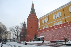 Mauer mit Mahnmal, Moskau