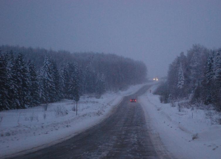 Fahrt nach Slobodskoi