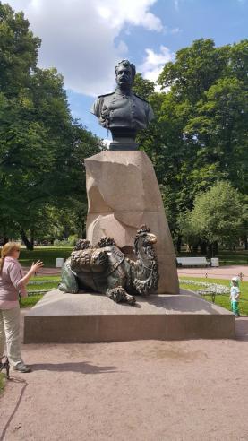 Dem Eroberer Zentralasiens gewidmet