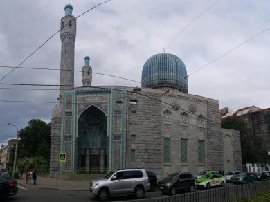 Größte Moschee in Petersburg