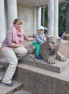 """""""Eroberung"""" von Peterhof"""