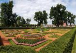 Einer der Gärten in Peterhof