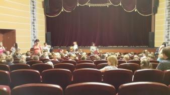 Puppentheater-Vorstellung